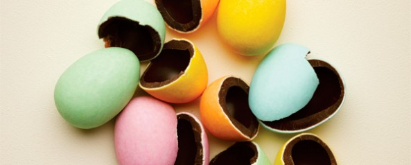 Carluccio's cracking Easter eggs
