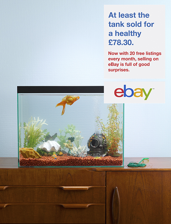 Gold fish Ebay port